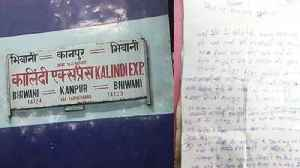Blast in Kalindi Express , threat letter in name of Jaish -e- Mohammmed found | Oneindia News [Video]