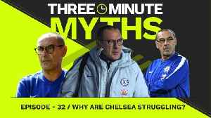 What's wrong at Chelsea? | Three Minute Myths [Video]