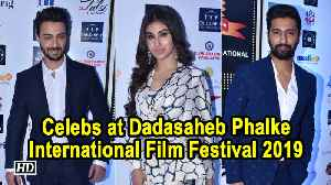 Vicky Kaushal, Mouni Roy at Dadasaheb Phalke International Film Festival 2019 [Video]