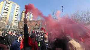 Fresh opposition protests in Albania over accusations of government links to organised crime [Video]