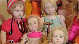 Watch: rare and antique dolls worth thousands go on show in Rome exhibition [Video]