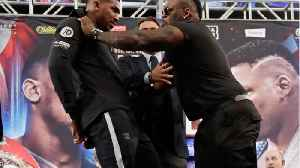 Jarrell Miller May Have Gotten Under The Skin Of Heavy-Weight Champ Anthony Joshua [Video]