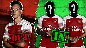 Arsenal To Replace Mesut Ozil With £100m Double Signing?! | #TransferTalk [Video]