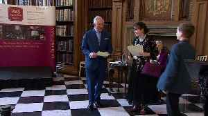 Prince Charles celebrates with students at awards ceremony [Video]