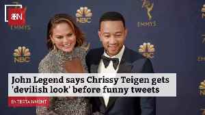 John Legend Talks About Chrissy Teigen Social Media Expressions [Video]