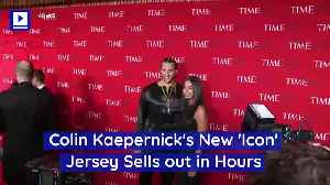 d71182188fbd Nike debuts Colin Kaepernick  Icon  jersey  Sells out within hours ...