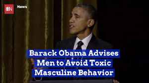 Barack Obama Has Some Strong Personal Advice For Men [Video]