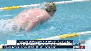 Saunderson wrapping up Towson career, eyeing Olympics [Video]