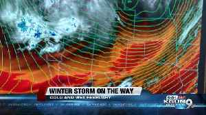 Winter Storm On The Way [Video]