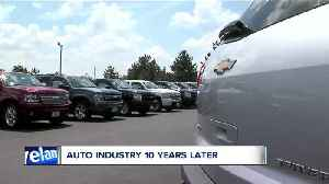 A look 10 back after the economic collapse that saw GM and Chrysler cut dealerships [Video]