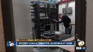 Student loan alternative launching at UC San Diego [Video]