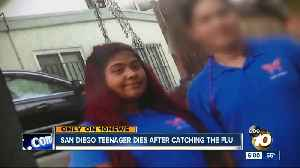 San Diego teenager dies after catching the flu [Video]