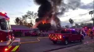RAW: Large house fire burning in Tempe [Video]