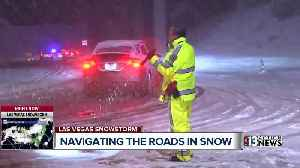 AAA offers tips to Las Vegas drivers unfamiliar with snowy conditions [Video]