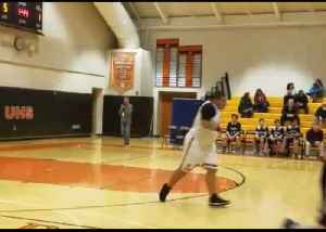 Teen With Asperger's Cheered On as He Scores in Final Game of Basketball Season [Video]