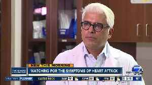Heart attack symptoms can be different for women [Video]