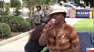 Local black woman protests Maxine Waters [Video]