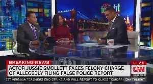 News video: Don Lemon and guests fret over Jussie Smollett case