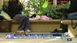 Homeless Coalition of Palm Beach County working to remedy homeless problem [Video]