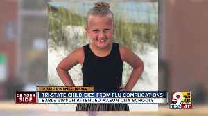 Child dies from flu complications [Video]