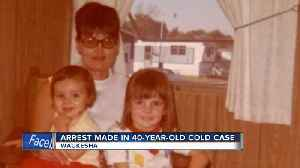 Suspect in 40-year-old Muskego cold case arrested in Florida [Video]