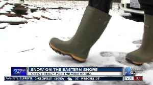 Snow on Eastern Shore [Video]