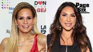 Which 'RHONJ' star's first kiss was like kissing a lizard? [Video]