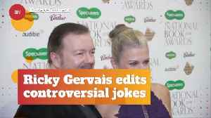 Ricky Gervais Is Now Worrying About What He Says [Video]
