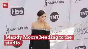 Mandy Moore Is Heading To The Studio To Make Music With Hubby [Video]