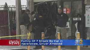 Family Of 7 Struck By Car In Haverstraw, Driver Arrested [Video]