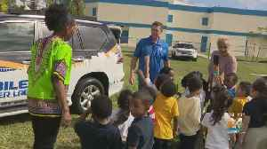 CBS4 Mobile Weather Lab Takes Part In School's Career Day [Video]