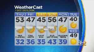 Temps Heading Into The 50s By Thursday [Video]