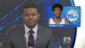 Sixers Joel Embiid To Miss At Least 1 Week With Knee Soreness [Video]