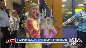 Unique surgery gives 10-year-old with cancer a second chance [Video]