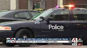 New violence prevention group hopes to deter crime [Video]