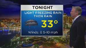 Bob Turk Has The Latest Look At Your Wednesday Evening Forecast [Video]