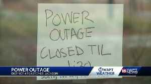 Residents, businesses left in dark in Eastover area [Video]