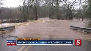 Home health nurse struggles to get to patient amid flooding in Rutherford Co. [Video]
