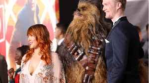 The New Chewbacca Shares Secrets On 'Star Wars' Set [Video]