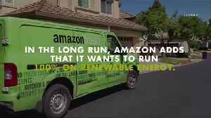 Amazon Aims to Use Fully Renewable Energy For Shipping [Video]