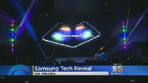 Samsung Previews Groundbreaking New Foldable Smartphone [Video]