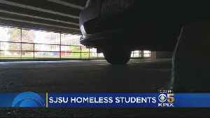 Students Ask SJSU For Spaces Where Homeless Students Can Park And Sleep [Video]