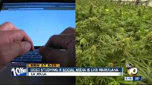 UCSD studies 'how high' teens are on social media [Video]