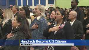 Hundreds Become US Citizens In Local Ceremony [Video]
