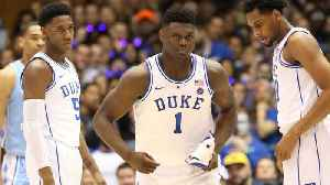 Duke Freshman Zion Williamson Exits North Carolina Game with Knee Injury [Video]