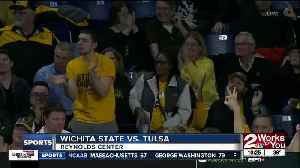 Wichita State hits season-high 15 three-pointers in blowout win over Tulsa [Video]