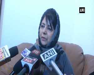 Dialogue only way to solve Kashmir issue Mehbooba Mufti [Video]