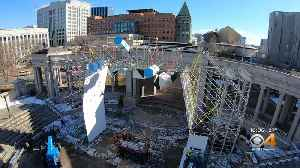 Heart Of Denver Prepares For First Ice Climbing Wall [Video]