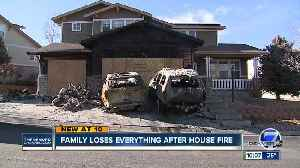 Aurora family trying to move on after mysterious fire guts their home [Video]
