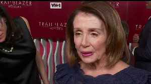 House Speaker Pelosi 'thrilled' to receive VH1 Trailblazer honor [Video]